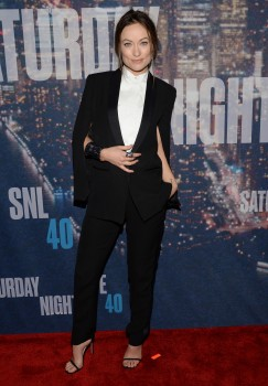 Olivia Wilde at the SNL 40th Anniversary Special at 30 Rockefeller Plaza in New York, NY on February 15, 2015