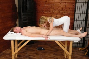 CFNM Sensual Massage part 2