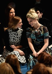 Dianna Agron - Carolina Herrera Fall 2015 Fashion Show in NYC 2/16/15