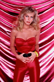 Cheryl Ladd: Tight Satin Jumpsuit ? - CLEAVAGE!! - UHQ x 1