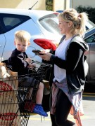 Hilary Duff - Shopping at Ralph's in Studio City 2/19/15