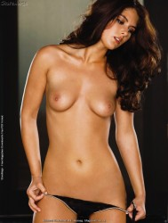 Tierra Lee in Playboys Lingerie February March 2011 USA