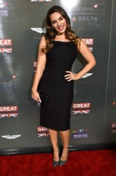 Kelly Brook - GREAT British Film Reception Honoring British Oscar Nominees in West Hollywood 2/20/15