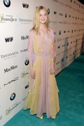 Elle Fanning - 8th Annual Women In Film Pre-Oscar Cocktail Party in LA 2/20/15