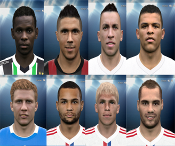 PES 2015  Bundesliga # 4 Facepack by Rednik