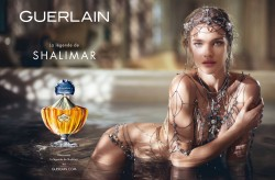 Natalia Vodianova - Guerlain - La Legende de Shalimar - promo