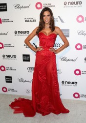 Alessandra Ambrosio - 23rd Annual Elton John AIDS Foundation's Oscar Viewing Party 2/22/15
