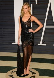 Karlie Kloss - Vanity Fair Oscar Party 2015 + ADDS
