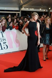 Taylor Swift - 2015 BRIT Awards in London 2/25/15