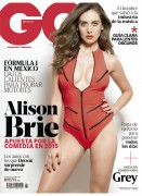Alison Brie - GQ Mexico - March 2015