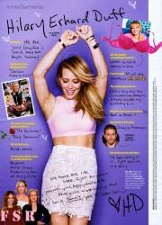 Hilary Duff - Cosmopolitan Magazine (April 2015)