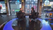 Catherine Bell at VH1 Big Morning Buzz Live Hosted By Nick Lachey 6.3.2015 720p