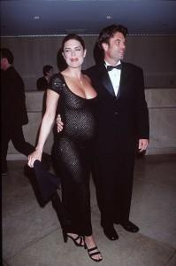 LISA RINNA x11 - nude, sheer, pregnant