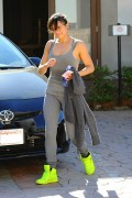 Michelle Rodriguez - Hits A Gym In Brentwood (3/12/15)