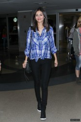 Victoria Justice - Arriving at LAX 3/15/15
