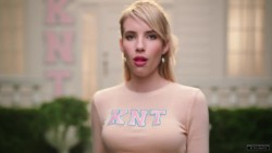 Emma Roberts - Scream Queens Promo Caps