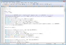 ScreenShoot Kegunaan Notepad++
