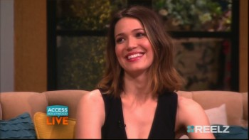 MANDY MOORE Access Hollywood Live 03.19.15