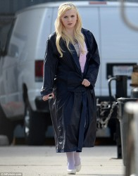 Abigail Breslin - on set of Scream Queens in New Orleans 3/22/15
