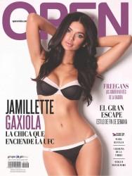 Jamillette Gaxiola Revista Open México Marzo 2015
