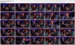 "Mila Kunis ""leggy"" on James Corden 3//23/15 V/C"