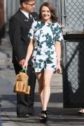 "Maisie Williams | Arriving @ ""Jimmy Kimmel Live"" in Hollywood 