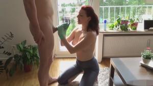 Private homemade mom blowjob