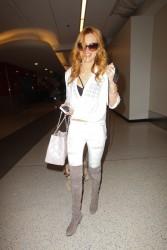 Bella Thorne - Arriving at LAX & JFK Airport in N.Y. 3/25/15