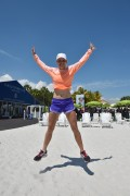 Caroline Wozniacki | On the Beach in Key Biscayne | March 24 | 16 pics