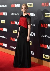 January Jones -  'Mad Men' Black & Red Ball in LA 3/25/15