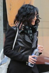Vanessa Hudgens - Leaving her apartment in NYC 3/25/15