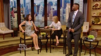 LUCY HALE - LEGGY  - Live with Kelly 03.27.15