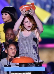Emma Stone - Nickelodeon's 28th Annual Kids' Choice Awards 3/28/15
