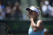 Caroline Wozniacki 1st round of the Miami Open Tennis tournament in Key Biscayne March 28-2015 x4