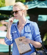 Charlize Theron had quick trip to the Malibu Coffee Bean.March 26-2015 x23