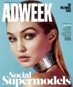 Gigi Hadid - Adweek - March 30, 2015