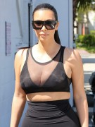 Kim Kardashian out and about in Studio City April 2-2015 x34